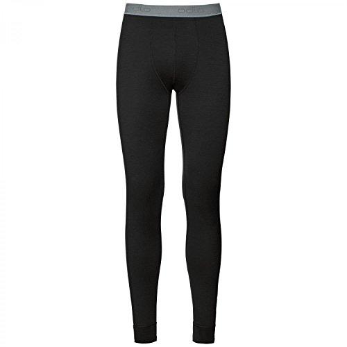 Odlo Damen Natural 100 Merino Warm Baselayer Pants Leggings, Black, L (Legging Warme)