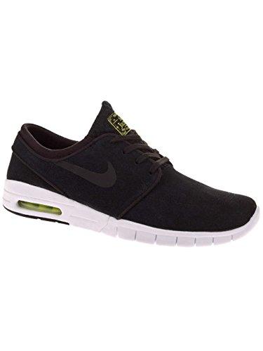 Nike Stefan Janoski Max L, Baskets Basses Mixte Adulte black/black/cyper/blanc