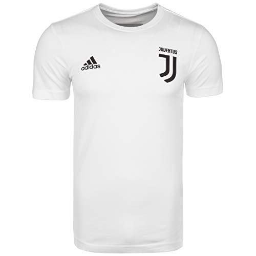 adidas - Maglietta da Uomo Juventus Turin Graphic Nr. 3, Uomo, FI2394, Bianco, L - 52/54