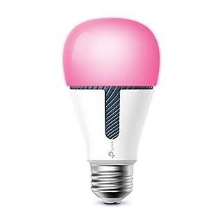 TP-Link KL130 Kasa Smart WLAN Glühbirne, E27, 10W, funktioniert mit Amazon Alexa (Echo und Echo Dot), Google Home und IFTTT, Farbwechsel, dimmbar, kein Hub erforderlich