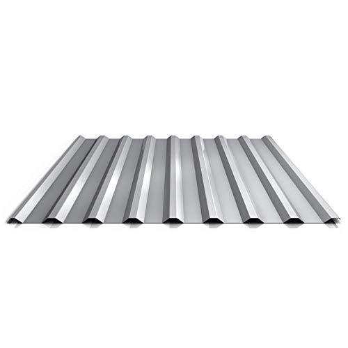 Wandblech Farbe Anthrazitgrau Trapezblech Profil PA35//1035TW Material Aluminium Beschichtung 25 /µm Profilblech St/ärke 0,70 mm