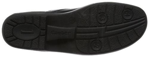 Ganter Anke, Weite G 6-205087-01000 Damen Schnürhalbschuhe Schwarz (schwarz 0100)