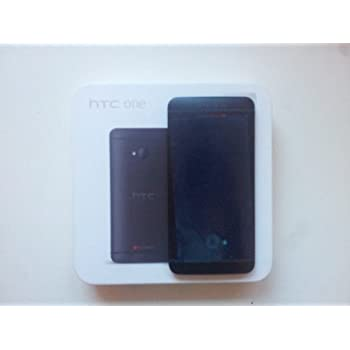 HTC One Smartphone (11,9 cm (4,7 Zoll) Touchscreen, Ultrapixel Kamera, 1,7 GHz, 2 GB RAM, LTE, NFC-fähig, BlinkFeed, BoomSound, MicroSIM, Android OS) schwarz