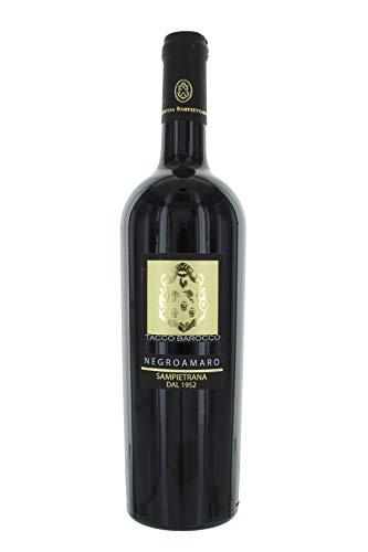 Rosso Vino Negroamaro Igp 2014 Tacco Barocco Sampietrana 75cl 13,5%vol