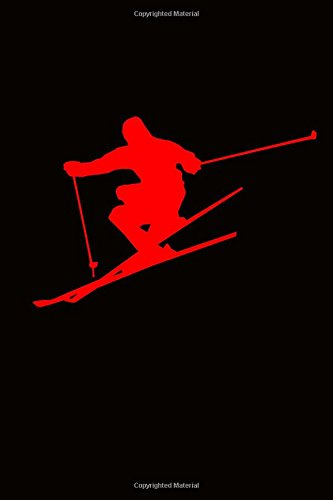 The Ski Jumping Journal: 150 page lined notebook/diary