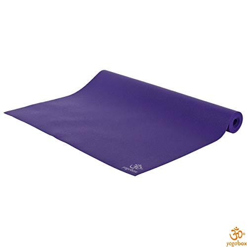 Tappetino da viaggio super leggero yoga mat made in germany, porpora