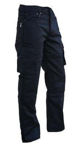 #ABG – Motorrad-Jeans/Cargo-Hose – Kevlar – CE-Protektoren – Schwarz – EU 38 reg#
