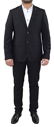 Ex-Branded Mens Formal Stretchable Slim Fit Dinner Suit Jacket Blazer Trousers Party Dress