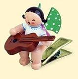Wendt & Kühn Engel mit Gitarre auf Klemme Größe 5
