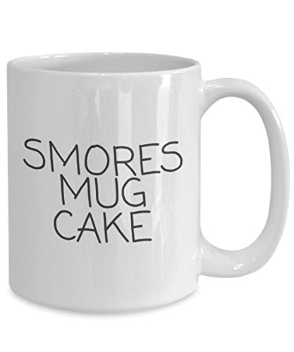 Smores Mug CAKESmores Kuchen-Keramik-Kaffeetasse lustiger Becher f¨¹r GuysFunny Becher f¨¹r Frauen -
