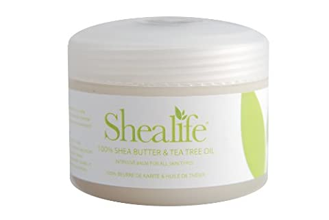 Shealife Baume 100% beurre de karité et huile d'arbre à thé 100g