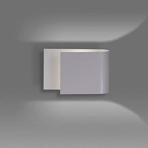 famlights Wandleuchte Verena aus Metall in Grau, 1-Flammig, G9-Fassung, max 20W   Wandlampe für Wohnzimmer, Schlafzimmer, Treppenhaus, Flur   moderne designer Wandbeleuchtung Wandlampe Anthrazit