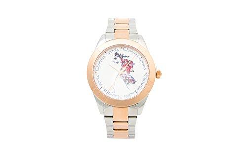 Preisvergleich Produktbild Ausverkauf !!!! Christian Lacroix Watch 8009602 Steel/Rose Gold Strap Analog Dial-Lady Watch innovative ästhetische Design-fashion Quartz Watch für Männer/Frauen