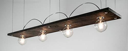 Richter-Leuchten, Richter Lampen, LED Pendelleuchte Bauhaus Pro100 mit gebürstetem Holz-Eiche weiß...