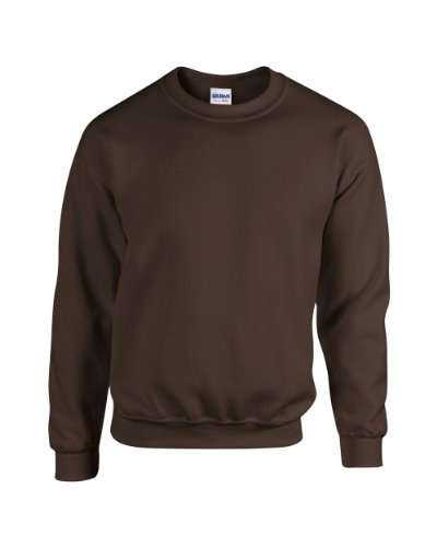 Gildan Blend TM Crew Neck Sweatshirt Erwachsene Dunkle Schokolade L L,Dunkle Schokolade - Extreme Xxl Schokolade