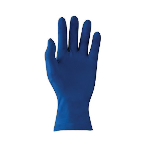 Microflex SafeGrip Latex Handschuh, puderfrei, lange Stulpe, 29,5cm Länge, 11Mil Dick, L, 50