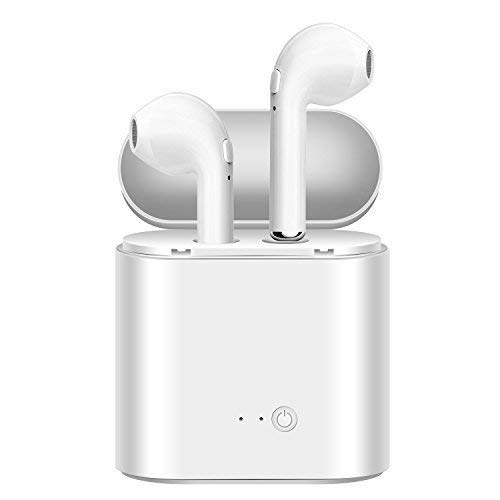 cydz Auriculares inalámbricos Bluetooth, audífonos Estéreo Auriculares Deportivos y Set de Carga, teléfono Manos Libres Apple iPhone 8 8plus 7 7plus 6S Samsung Galaxy S7 S8 Smartphone Android iOS