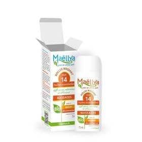 Maëllya Massages roller massant bio aux 14 huiles essentielles 75ml