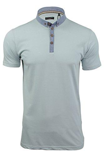 mens-polo-t-shirt-chimera-brave-soul-denim-chambray-collar-short-sleeved-chimera-baby-blue-l