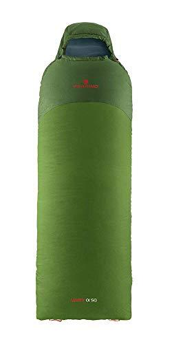 Ferrino SLEEPINGBAG Levity 01 SQ Right Saco de Dormir Tiempo Libre Y Senderismo Unisex Adulto, Verde, L