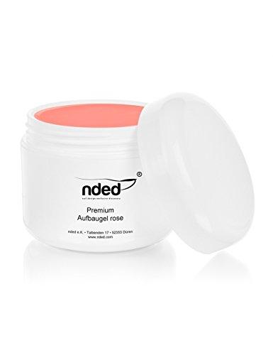 nded Premium Gel de Construction, Rose, 50 ml, grande viscosité, adapté UV, sans acide