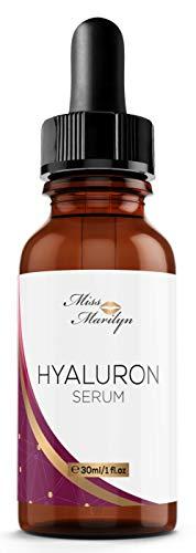 EINFÜRUNGSPREIS - Hyaluronsäure Serum hochkonzentriert - Sofort-Effekt - Hochwirksames Hyaluron Anti Aging Gel gegen Falten - ohne künstliches Verdickungsmittel - Hergestellt in Deutschland