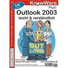 Outlook 2003 für Einsteiger