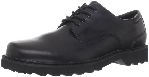 Rockport Northfield Leather, Herren Halbschuhe Schwarz (Black)