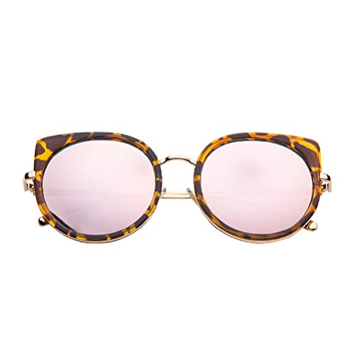 YRE Baby Kids Sonnenbrille, Mode-Flut cool Anti-Ultraviolet-Persönlichkeit Harz-Gläser, uv400 Junge Mädchen Sonnenbrille,E