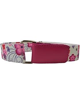 Cintura Elasticizzata per Bambini 1-6 Anni, Apertura Hook & Loop con Stampato design