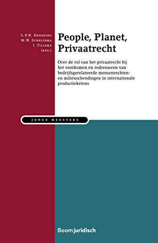 People, Planet, Privaatrecht (Jonge meesters Book 20) (Dutch Edition)