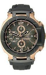Tissot T0484272705701 - Reloj de pulsera hombre, caucho, color negro