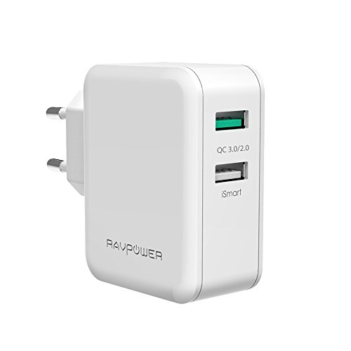 qualcomm-quick-charge-30-ravpower-usb-ladegerat-schnelle-ladefunktion-30-w-2-port-ladeadapter-mit-qc