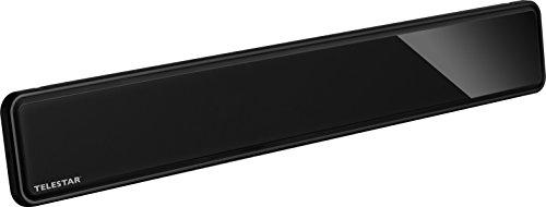 Telestar 5102227 ANTENNA 12 LTE aktive DVB-T/DVB-T2 Antenne (FullHD, Verstärkung: bis zu 35 dB, LTE Filter, 5V über Receiver oder 230V Netzteil) schwarz