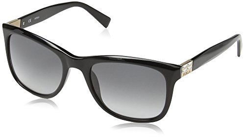 Furla occhiali da sole su4897 zizi wayfarer, donna