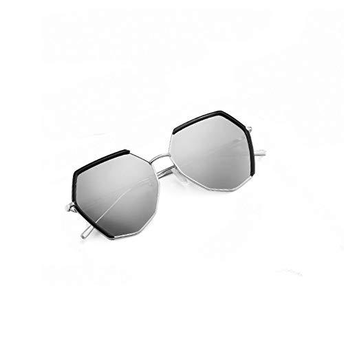 ZHENCHENYZ Polarisierte Sonnenbrille Weibliche Koreanische Welle Retro Harajuku Wind Sonnenbrille Persönlichkeit Brille Rundes Gesicht