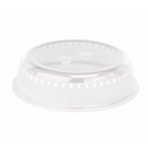 Viva Haushaltswaren #50221# - Mikrowellenabdeckhaube - Deckel, Tellerabdeckhaube für Mikrowelle 26 cm Mikrowellen-deckel