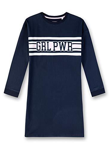 Sanetta Mädchen Nachthemd, Blau (Navy 5172), (Herstellergröße: 176)