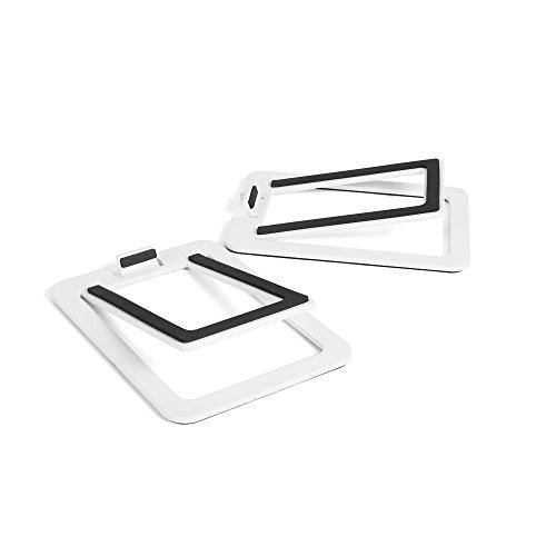 Kanto S2 Desktop Lautsprecher Steht für Kleine Lautsprecher, weiß