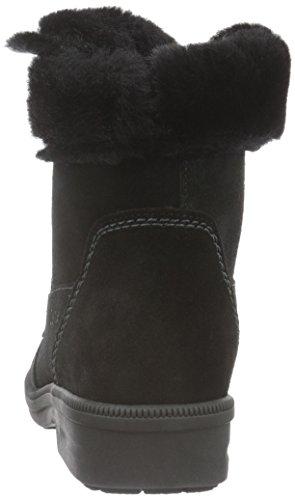Ganter Kathy, Weite K, Bottes courtes avec doublure chaude femme Noir - Noir (0100)