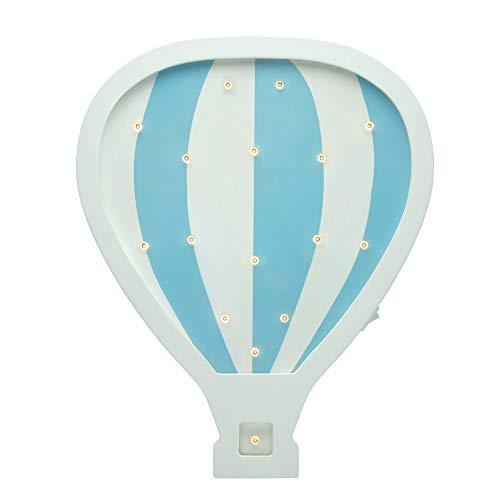 Pauleen Wandleuchte 48049 Pared Lovely Balloon Lamp Globo aerostático Lámpara para habitación Infantil...