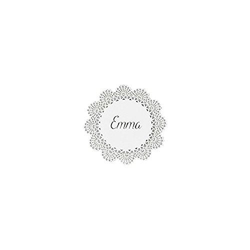 10 Platzkarten aus Papier Spitze, 10 cm   Basteln   Tischkarte   Hochzeit