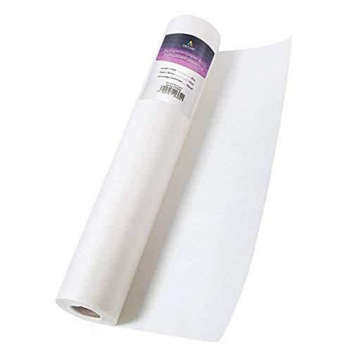 Tritart Transparentpapier Rolle 40cm x 50m 50g/m² | Skizzenpapier Rolle