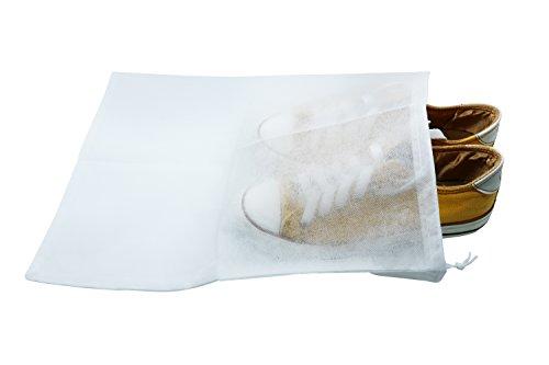 Hybsk - Conjunto de 10 bolsas para guardar zapatos, resistentes al pol