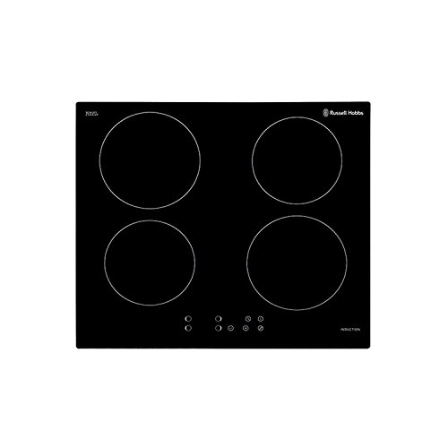 Russell Hobbs, 4 Zones, Touch Control Induction Electric Hob RH60IH401B – Free 2 Year Warranty*