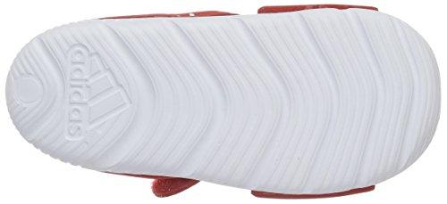 adidas - Disney Akwah 9 I, Sandali Unisex – Bimbi 0-24 Multicolore (Vivid Red/Ftwr White/Ftwr White)