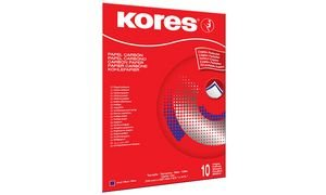 Kores Durchschreibepapier, DIN A4, blau, 100 Blatt VE = 1