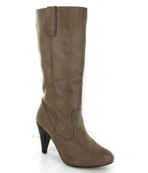 Chaussure Bas Prix - Bottes femme kaki - CL318-14 Kaki