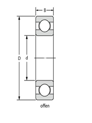 16014-Roulement-pour-ciclop-Scanner