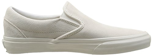 Vans Unisex-Erwachsene U Classic Slip-On Vintage Sneaker Weiß ((Vintage) true white/blanc)